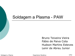 Soldagem por Plasma_PAW