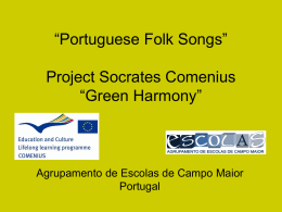 Portuguese Folk Songs
