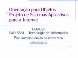 Objetivo - Erudito FEA-USP
