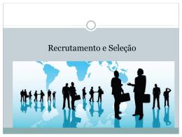 RecrutamentoSelecao
