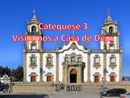 Catequese 3 - Material de Catequese