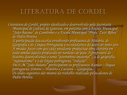 Literatura cordel