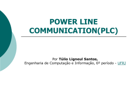 Tulio - Power Line Communication (PLC).