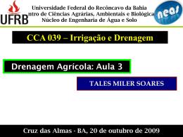Drenagem_Tales_UFRB_aula3