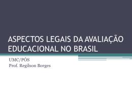 aspectos legais da avaliação educacional no brasil
