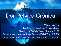 Dor Pélvica Crônica - Chasqueweb