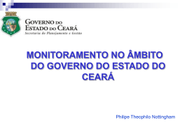 Sistema Monitoria Gov Ceara - Philipe Nottingham