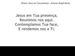 JESUS EM TUA PRESENÇA4