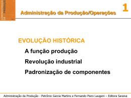 Producao-Conceitos Basicos e Historico