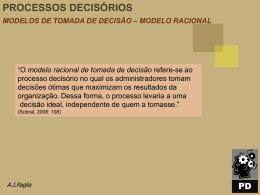 modelo racional