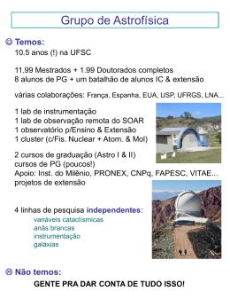 j - Grupo de Astrofísica da UFSC