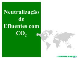 APRESENTAÇÃO CO2 PARA NEUTRALIZAÇÃO DE EFLUENTES