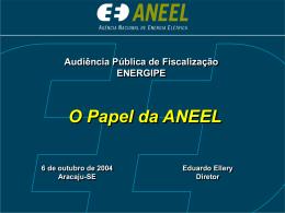 Audiência Pública de Fiscalização da Energipe