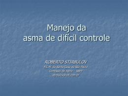 CONTROLE DA ASMA