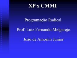 XP e CMMI – Adaptação