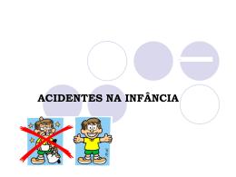 acidentes na infância