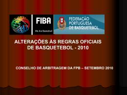 Regras Oficiais de Basquetebol 2010 – Interpretações