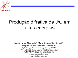Produção difrativa de J/ψ em altas energias