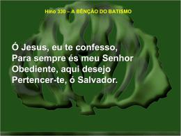330-a bênção do batismo