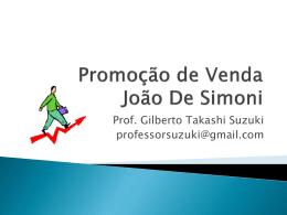 Promoção de Venda João De Simoni