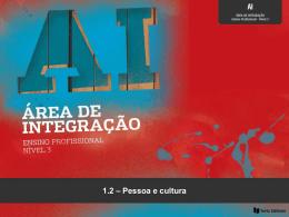 1.2 – Pessoa e cultura
