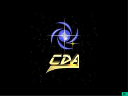 A História das Constelações - CDCC