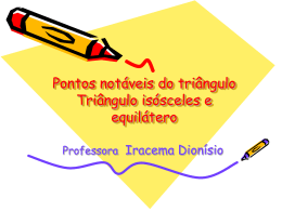 Pontos notáveis do triângulo (1)