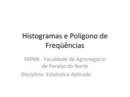 Polígono de freqüência acumulada