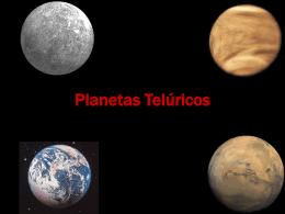 Os Planetas Telúricos ----- trabalho realizado pela
