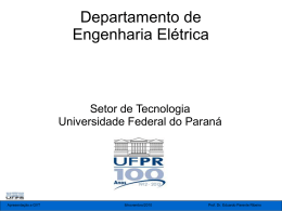 Apresent_gvt - Universidade Federal do Paraná