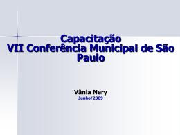 Apresentação - Capacitação Espaso Conferência