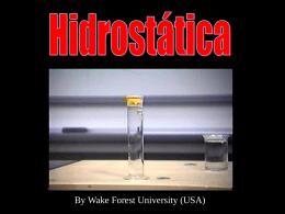 Hidrostática - (LTC) de NUTES