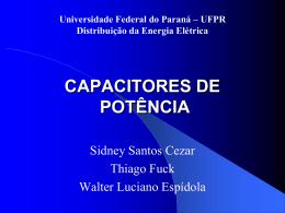CAPACITORES DE POTÊNCIA
