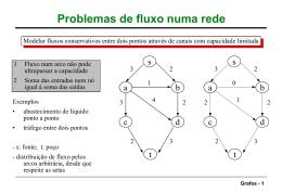 Grafos: fluxos e árvores de expansão