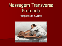 Massagem Neuromuscular