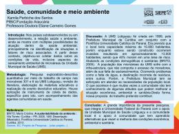 Professora Doutora Eliane Carneiro Gomes
