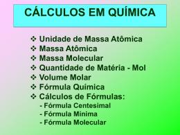 Calculos em Química - Prof. Camilo Castro