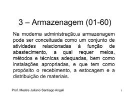 3 - Armazenagem