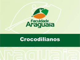 Aula 11. Crocodilianos
