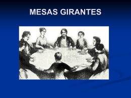 MESAS GIRANTES - WordPress.com