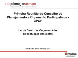 – Apresentação – 1ª Reunião do CPOP