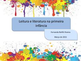 Leitura e literatura na infância