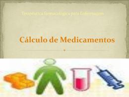 Cálculo e Administração de Medicamentos