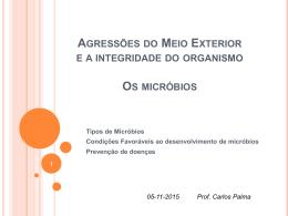 Micróbios - Páginas de Professores - CCEMS