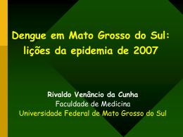Dengue em Mato Grosso do Sul