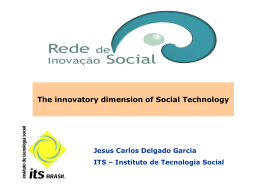 The innovatory dimension of Social Technology