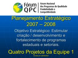 Slide 1 - Movimento Brasil Competitivo