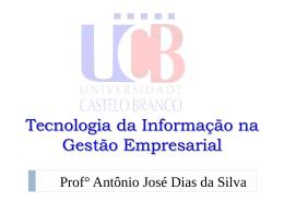Sistema de Informação - Universidade Castelo Branco