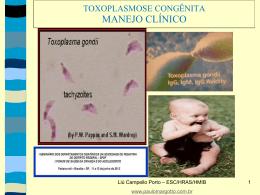 Toxoplasmose congênita: manejo clínico
