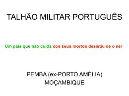 TALHÃO MILITAR PORTUGUÊS